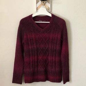 Prana Leisel Cable Knit Sweater Size S